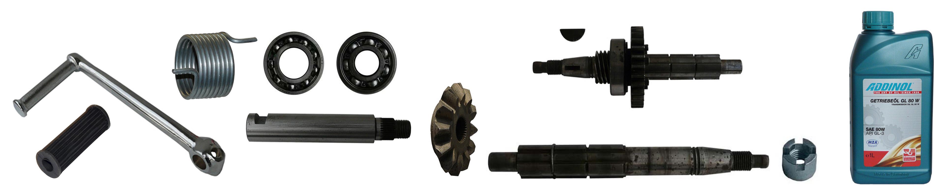EMW R 35 Ersatzteile Getriebe Kickstarter