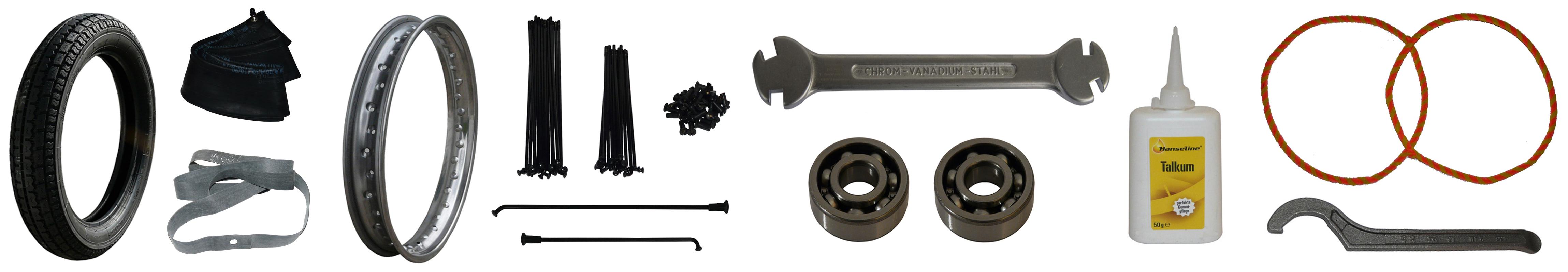 EMW R 35 Ersatzteile Hinterrad