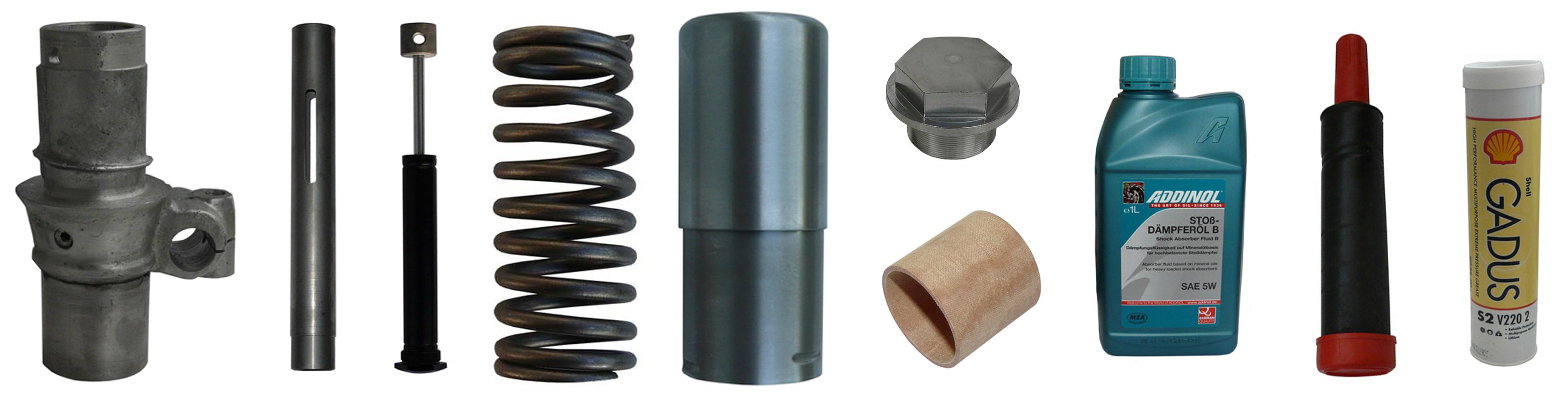 EMW R 35 Ersatzteile Hinterradfederung
