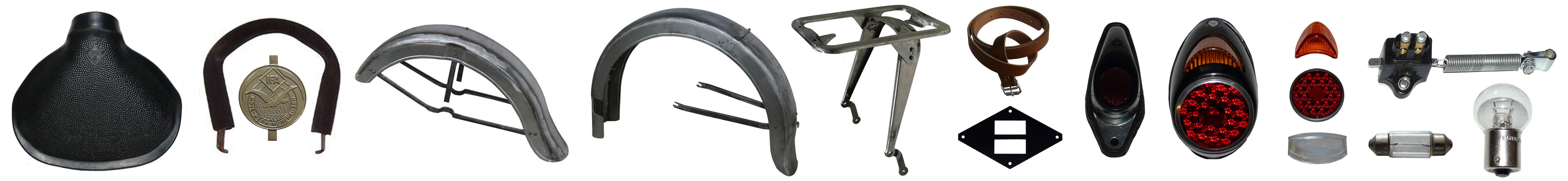 EMW R 35 Ersatzteile Sattel Schutzbleche