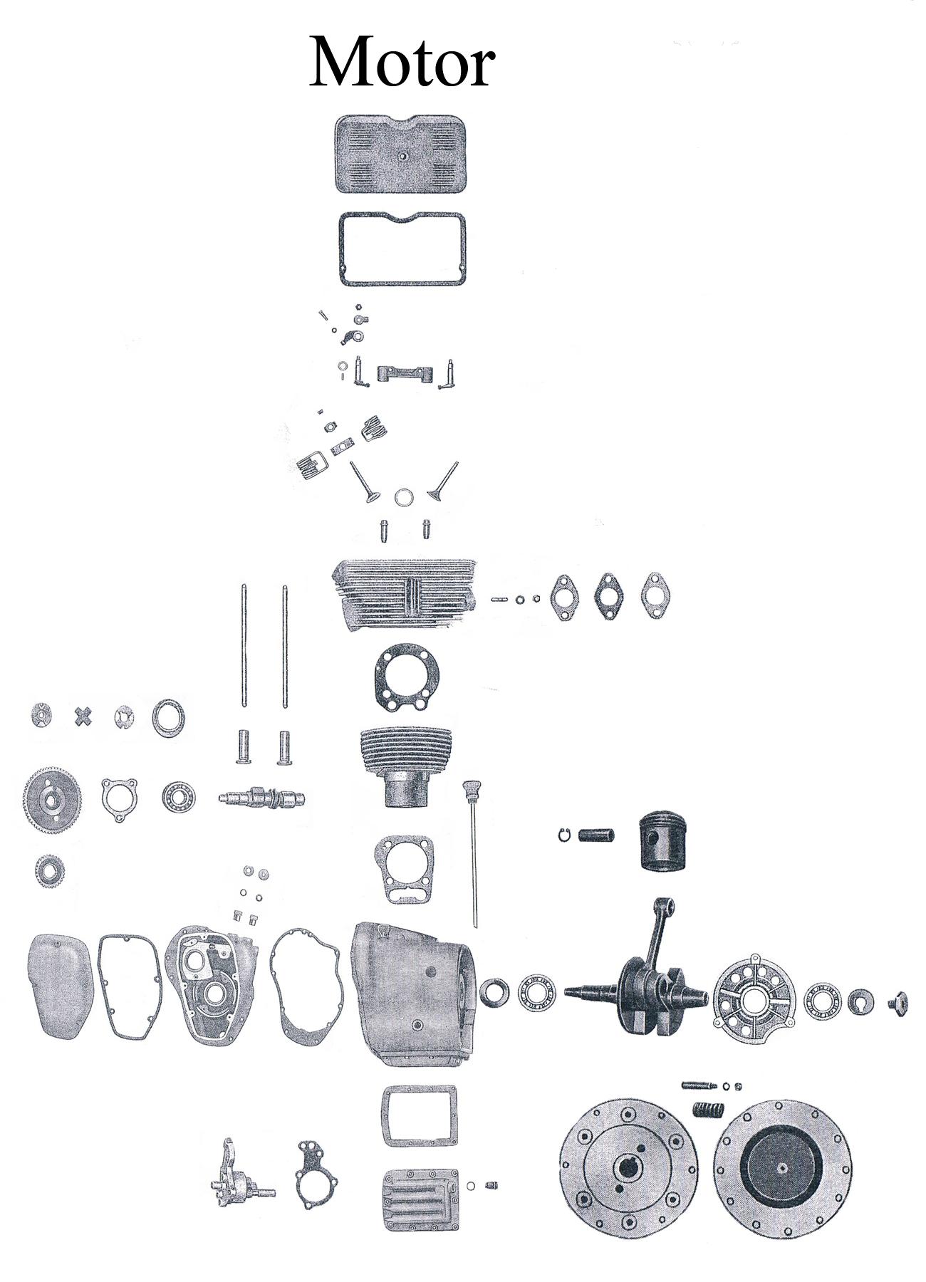 Großzügig Auto Motor Explosionszeichnung Ideen - Schaltplan Serie ...