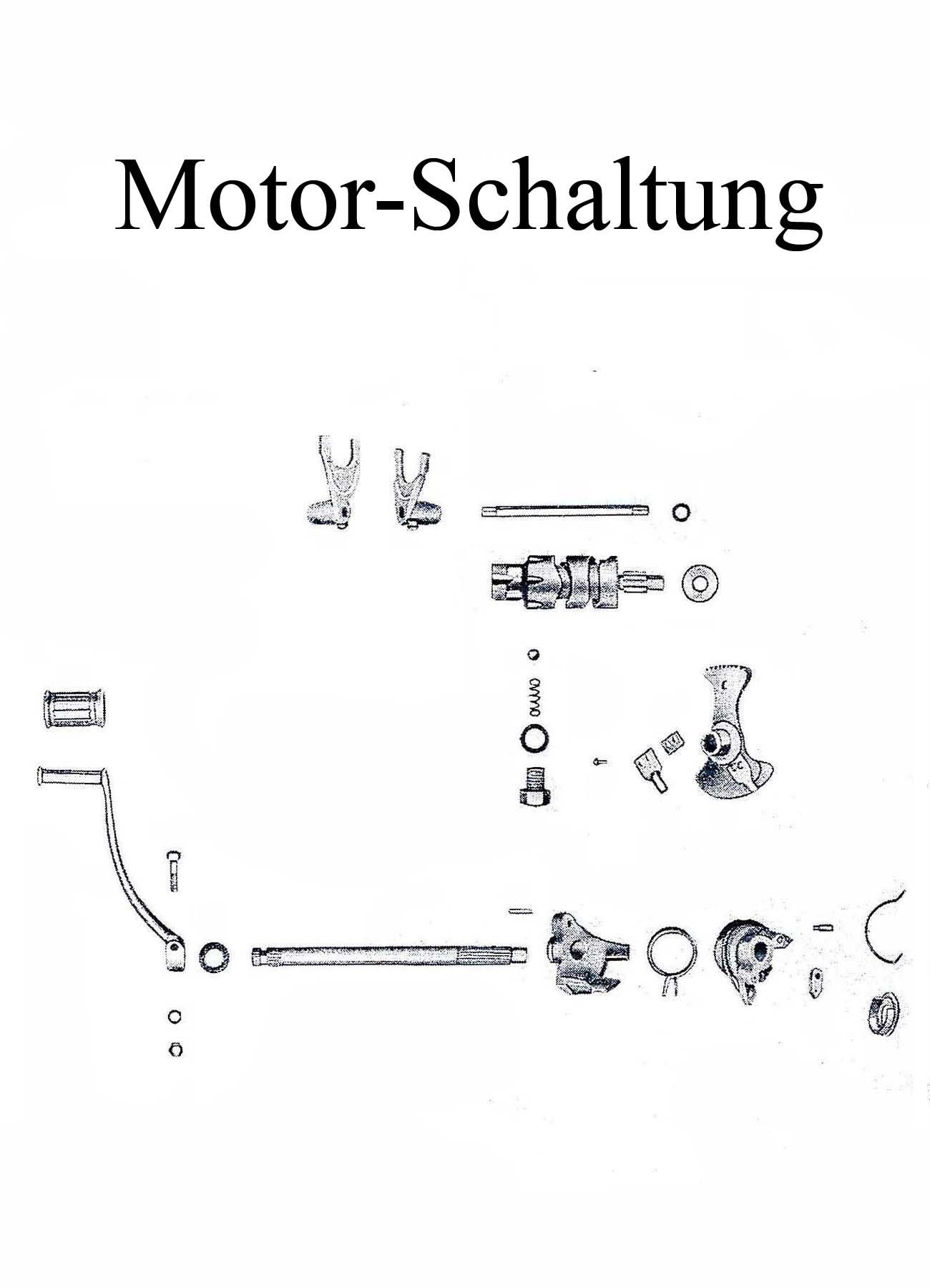 MZ ES 175-250/0-1 Ersatzteileliste Motor Schaltung Fußschalthebelgummi Welle Schaltklinkenarretierfeder