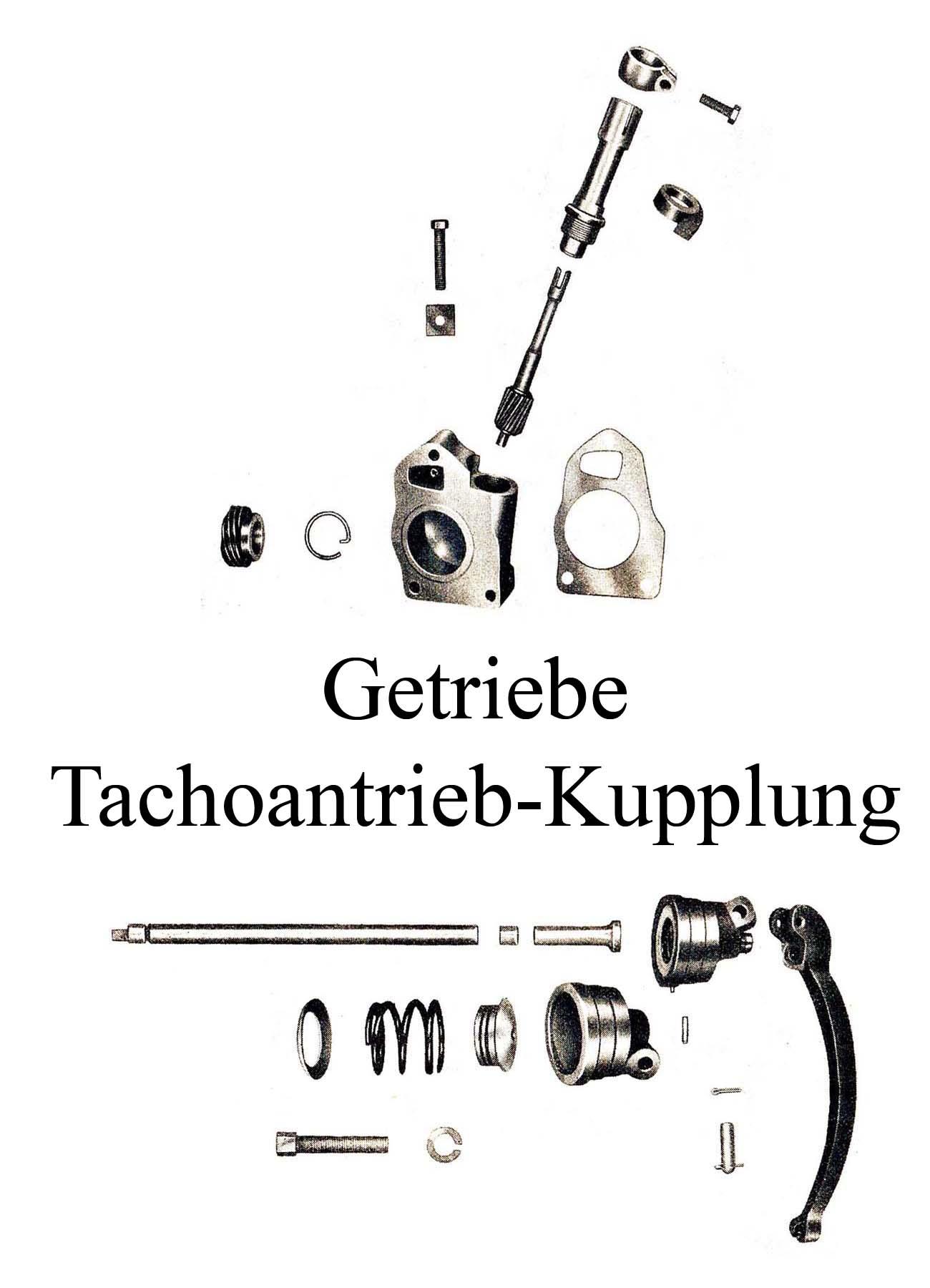 DDR-Motorrad IFA MZ BK 350 Ersatzteileliste Getriebe Kupplungsdruckstange Tachometerantrieb