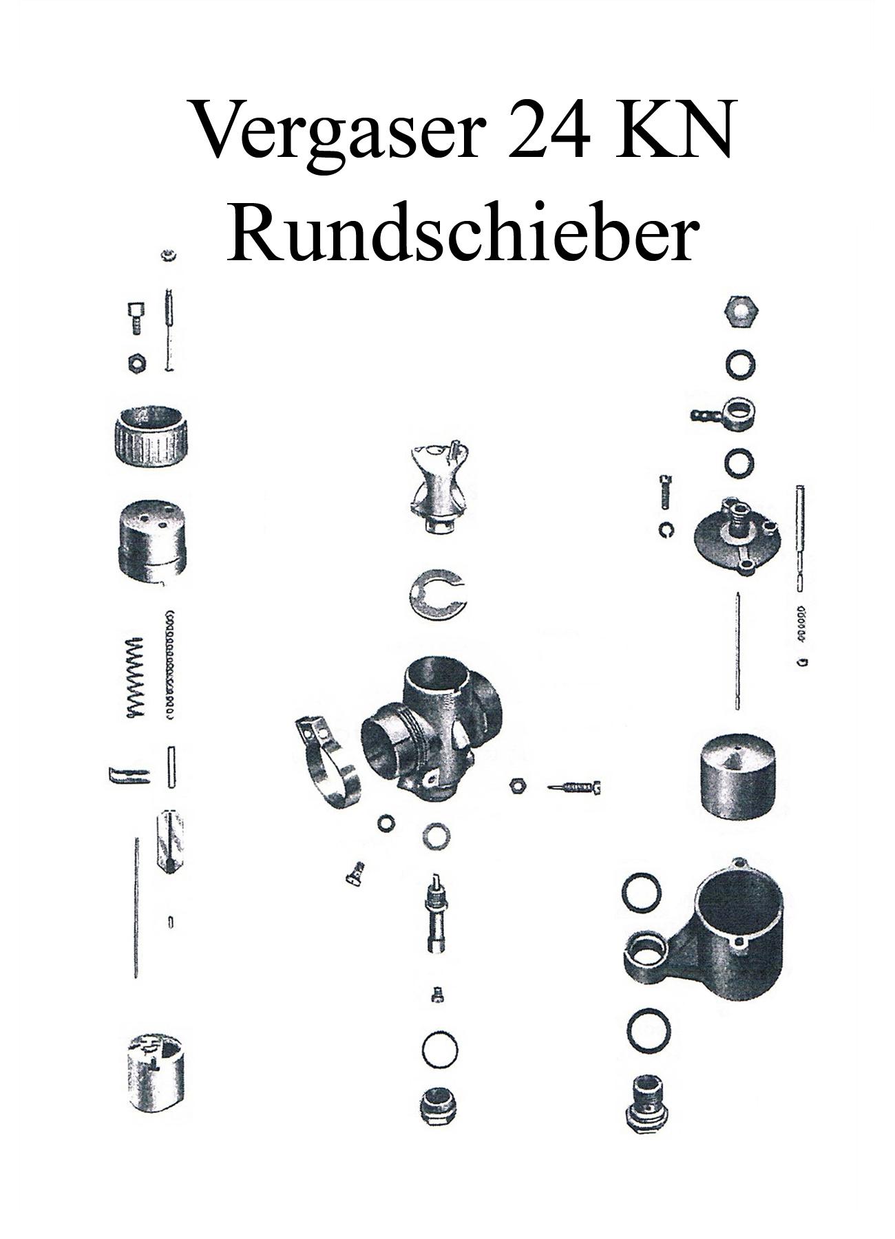 DDR-Motorrad IWL Berliner Roller SR 59 Ersatzteileliste Rundschiebervergaser 24KN Düsen Dichtungen Schwimmer Nadelhalter
