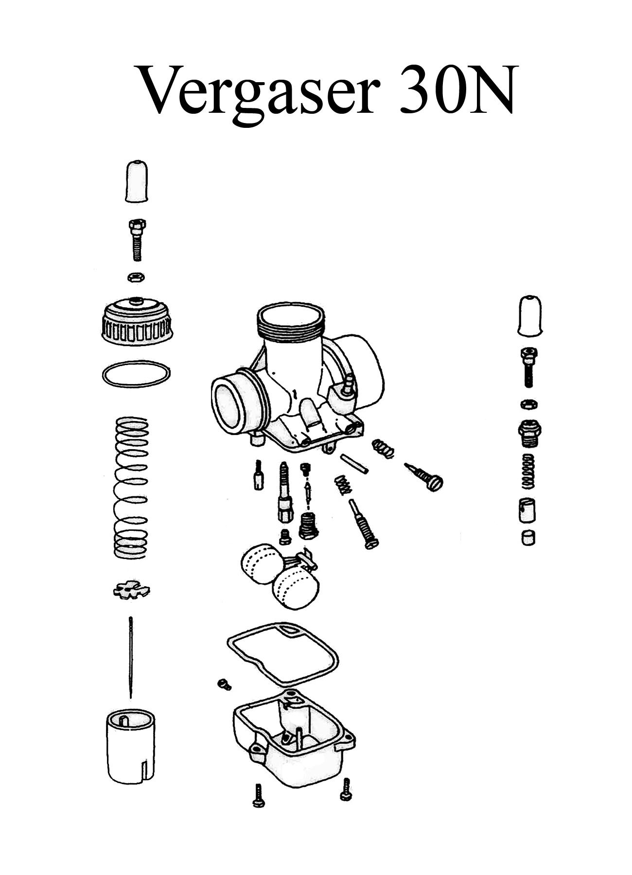 MZ TS 250/0-1 Ersatzteile Vergaser