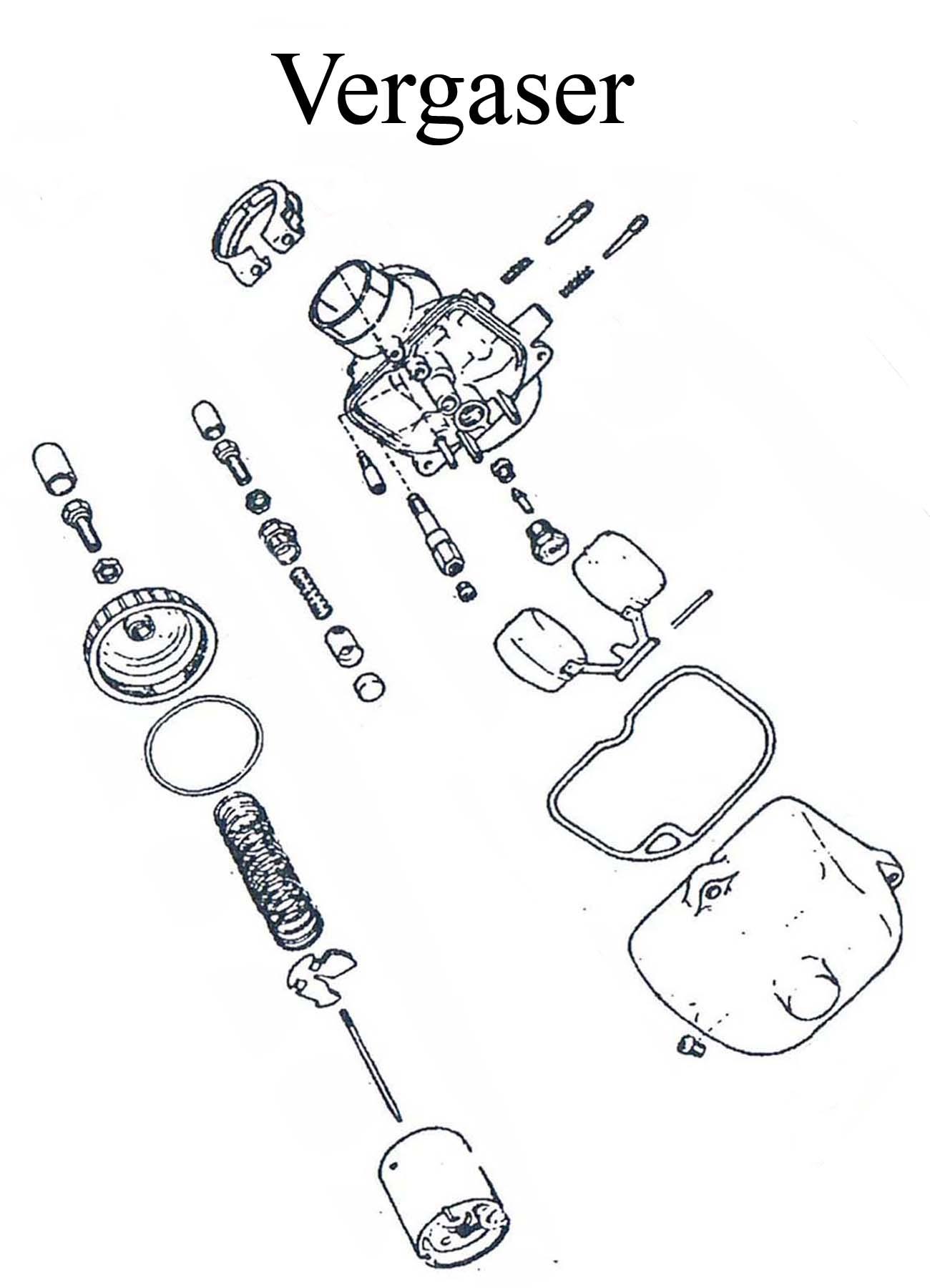 DDR-Motorrad MZ ETZ 125-150 Ersatzteileliste BVF Vergaser 22-24N Schwimmer Nadel Düsen Dichtung Startkolben