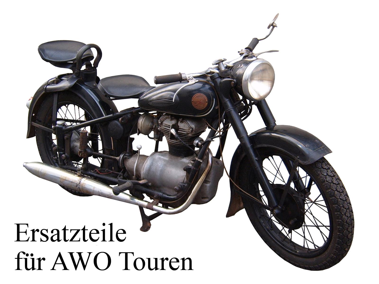 Ersatzteile kaufen für das DDR-Motorrad AWO Touren