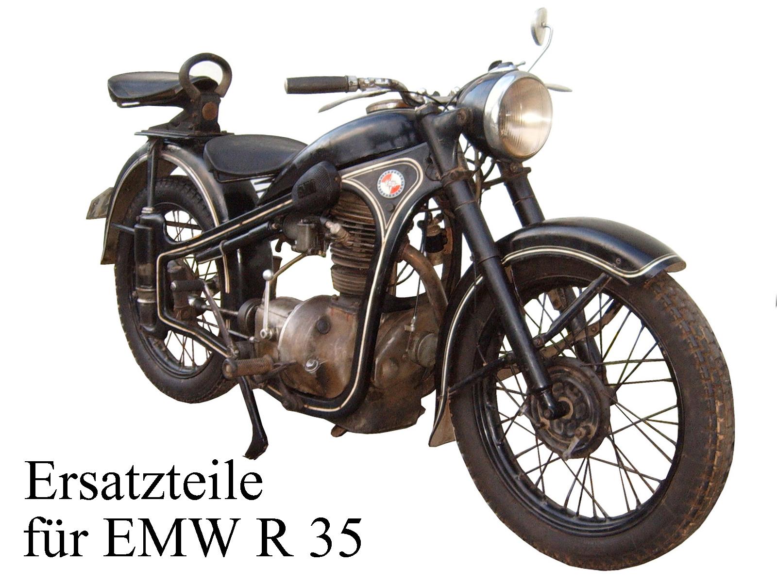 Ersatzteile kaufen für das DDR-Motorrad EMW R 35/3