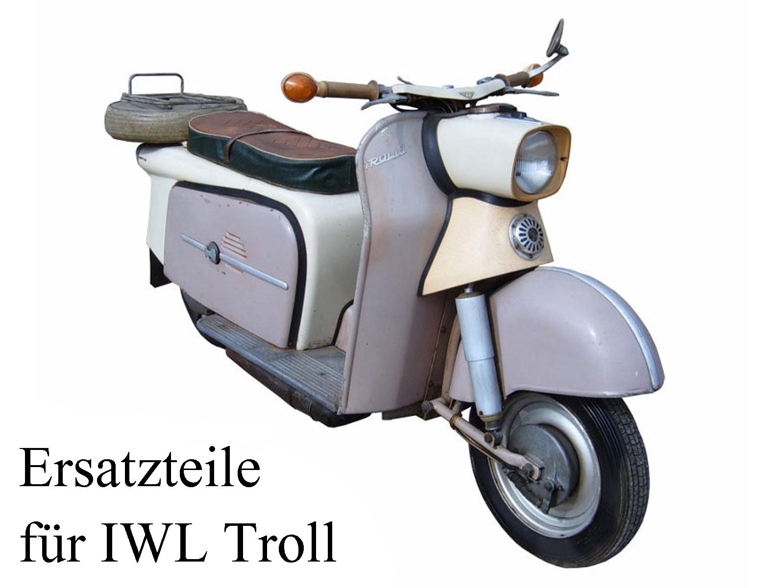 Ersatzteile kaufen für die DDR-Motorroller IWL Troll TR 150
