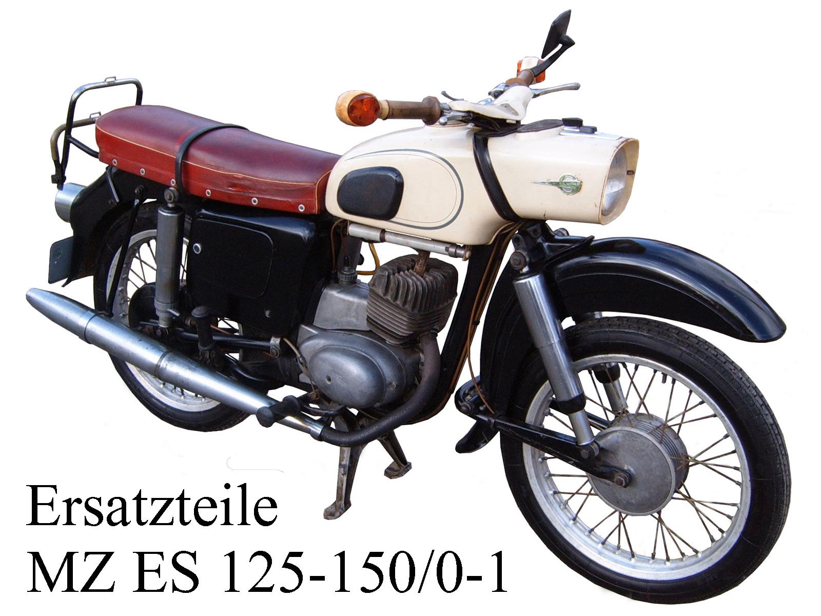 Ersatzteile kaufen für die DDR-Motorräder MZ ES 125-150/0-1