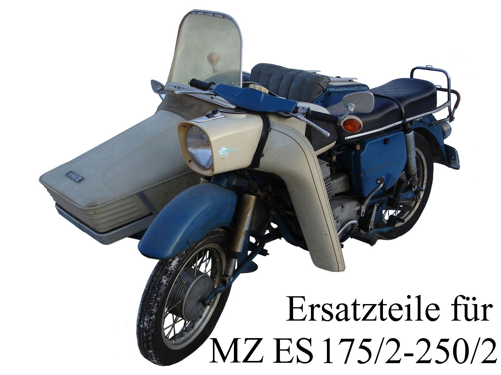 Ersatzteile kaufen für die DDR-Motorräder MZ ES 175/2-250/2