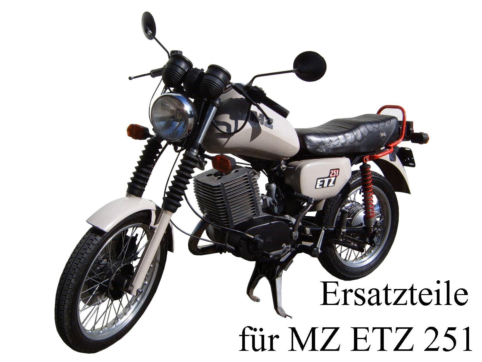 Ersatzteile kaufen für das DDR-Motorrad MZ ETZ 251