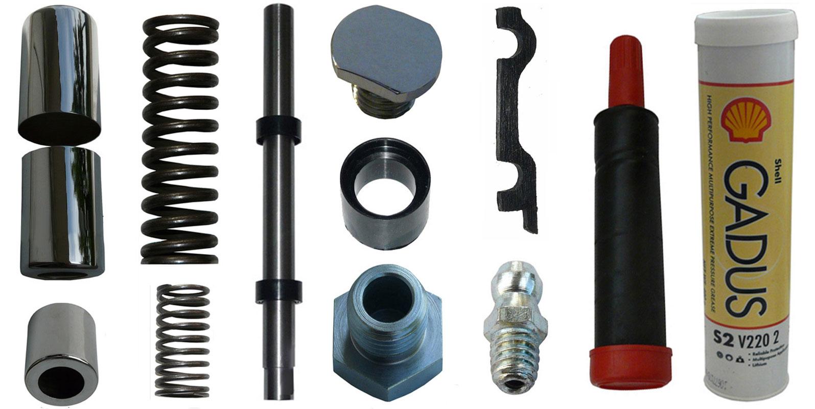IFA MZ RT 125 Ersatzteile Hinterradfederung