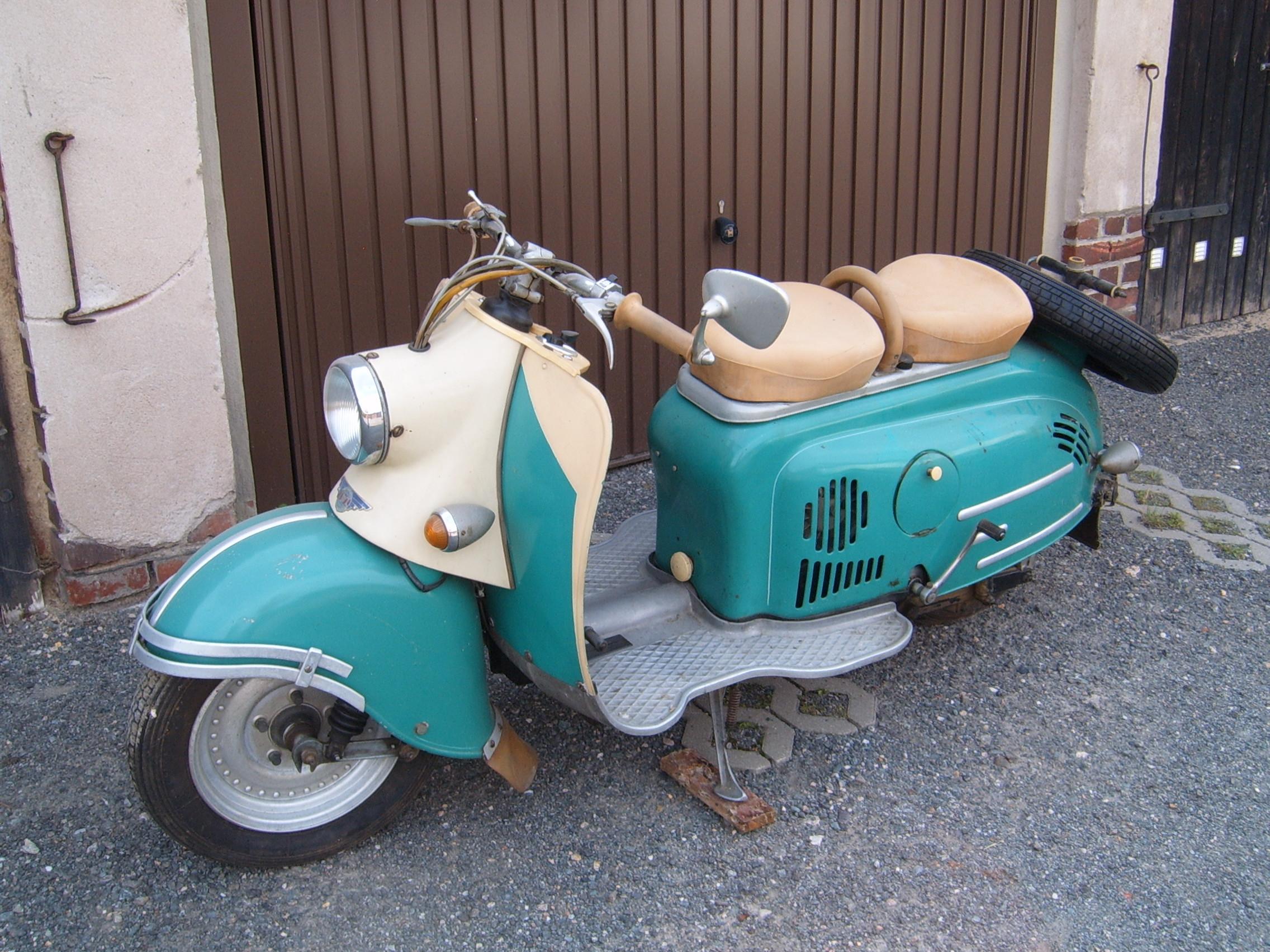 IWL Motorroller Berlin SR 59 Ersatzteile