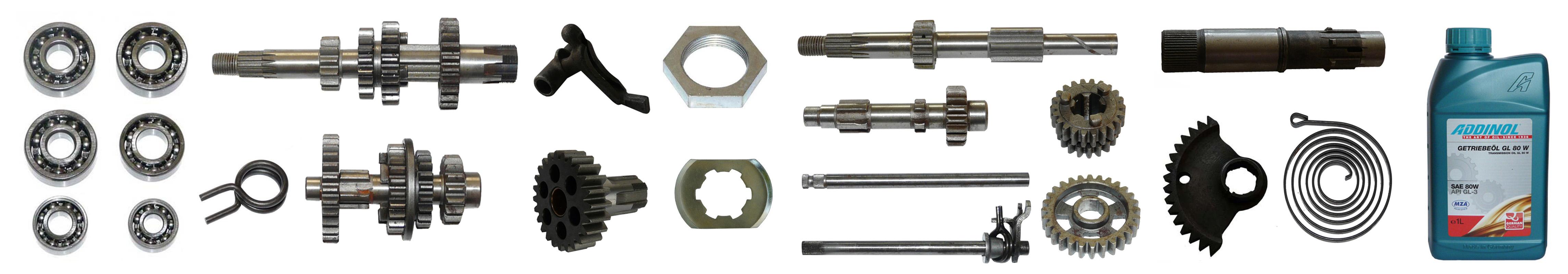 IWL Troll Ersatzteile Motor Getriebe