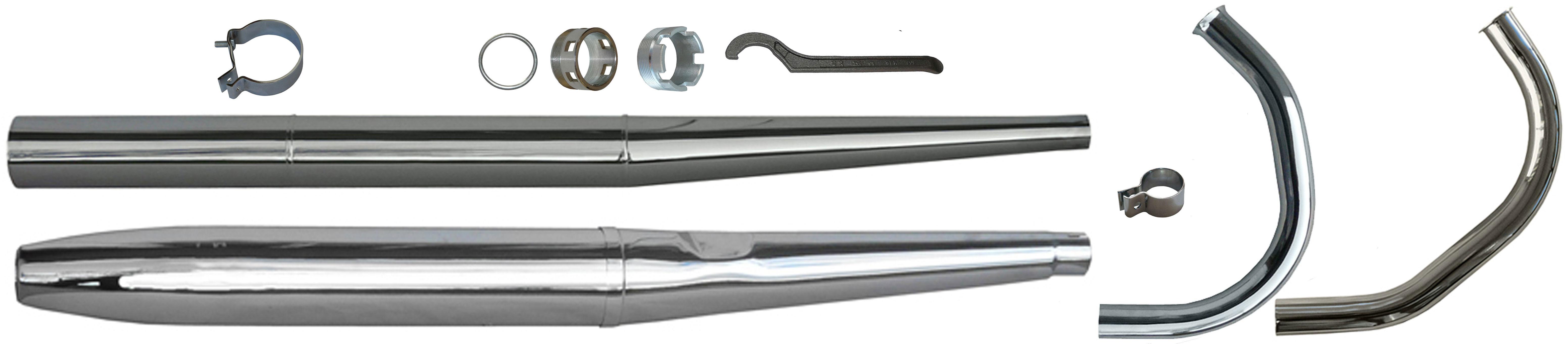 MZ ES 125 150 Ersatzteile Auspuff