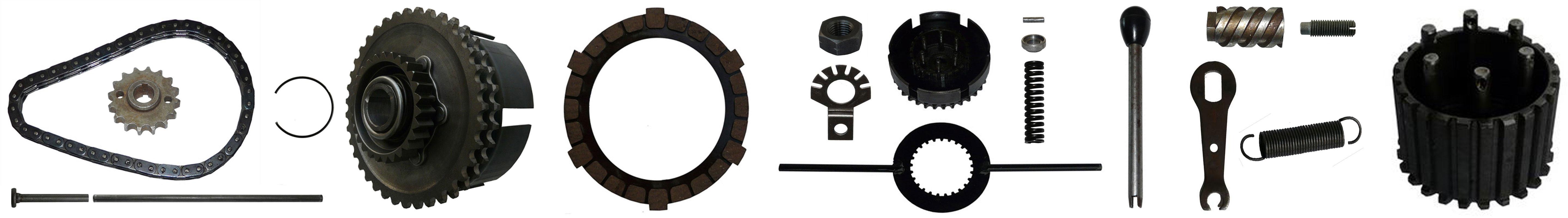 MZ ES 125 150 Ersatzteile Motor Kupplung