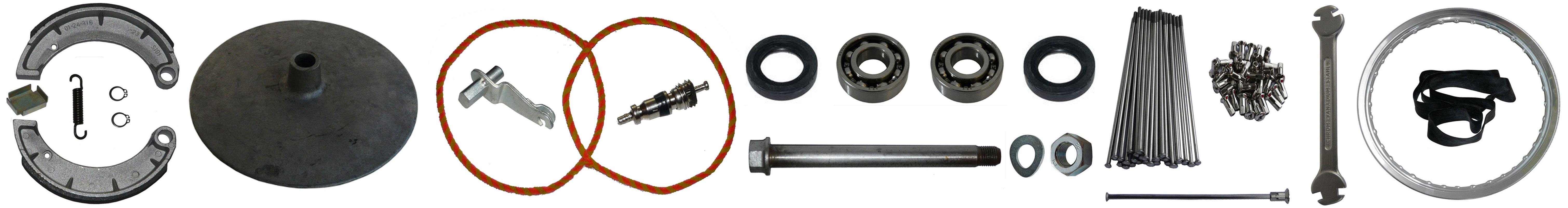 MZ ES 125 150 Ersatzteile Vorderrad
