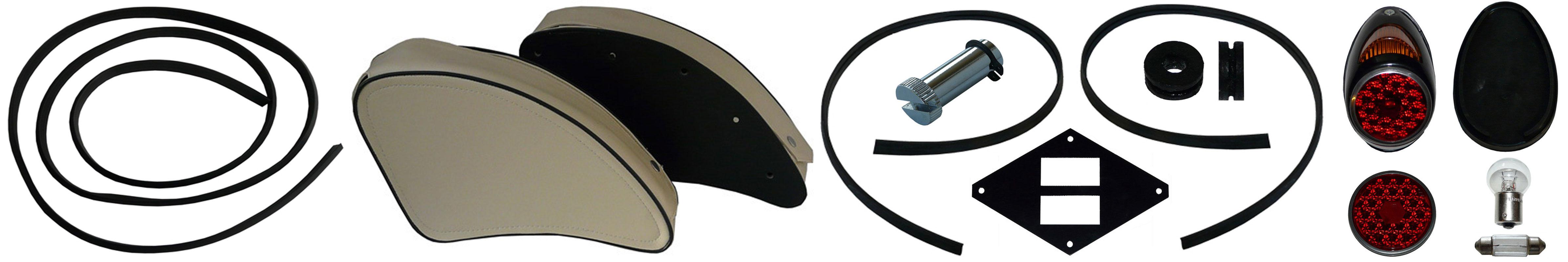 MZ ES 175/0 250/0 Ersatzteile Verkleidung Schutzblech Rücklicht