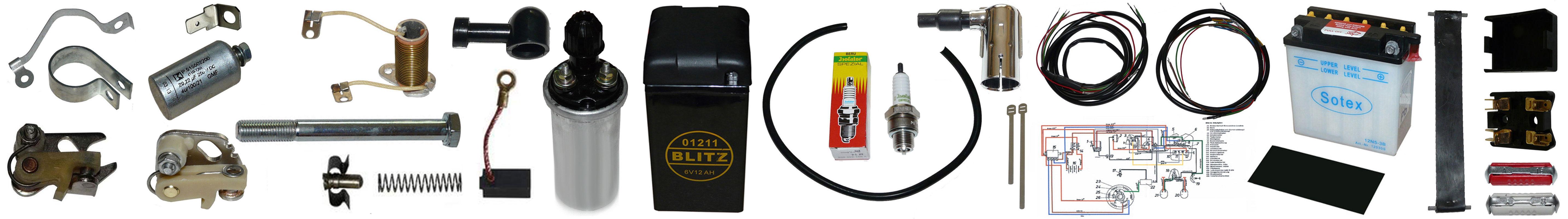 MZ ES 175 250 Ersatzteile Elektrik