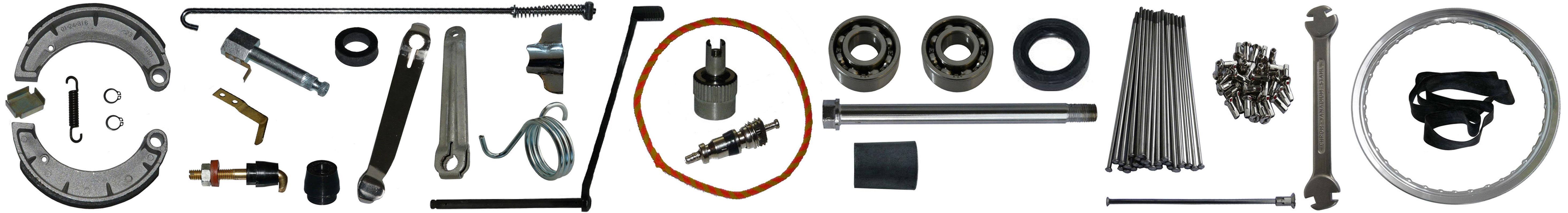 MZ ES 175 250 Ersatzteile Hinterrad Bremse