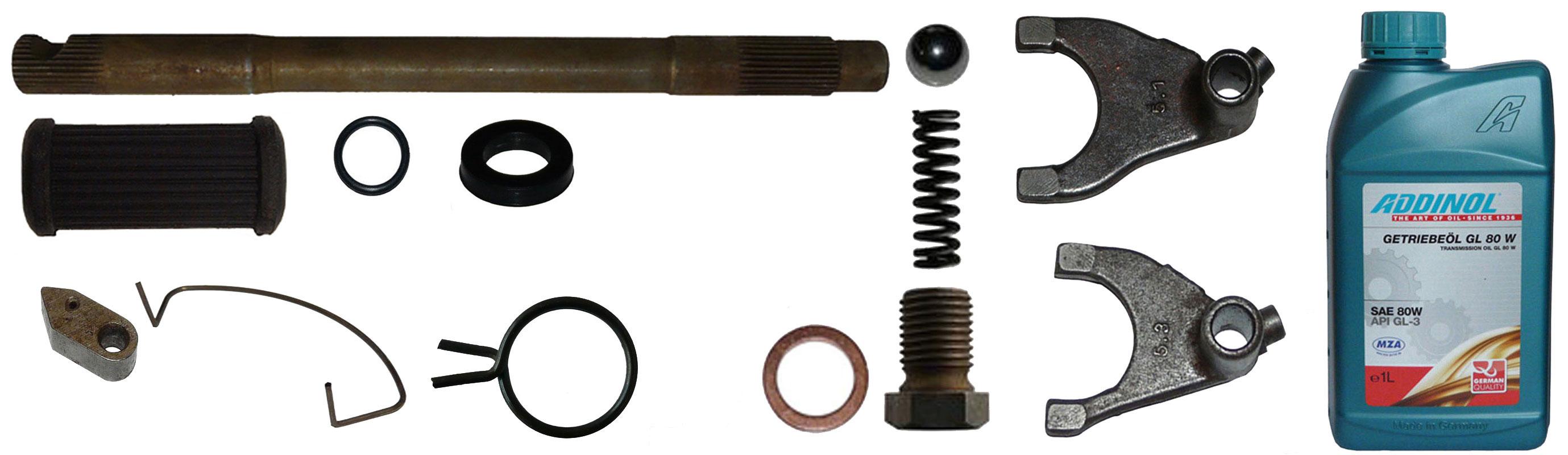 MZ ES 175/1 250/1 Ersatzteile Motor Schaltung