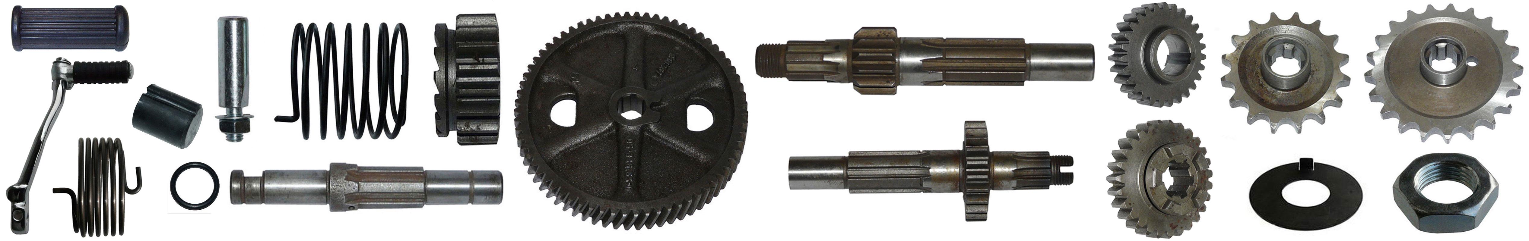 MZ ES 175/2 250/2 Ersatzteile Motor Getriebe Kickstarter