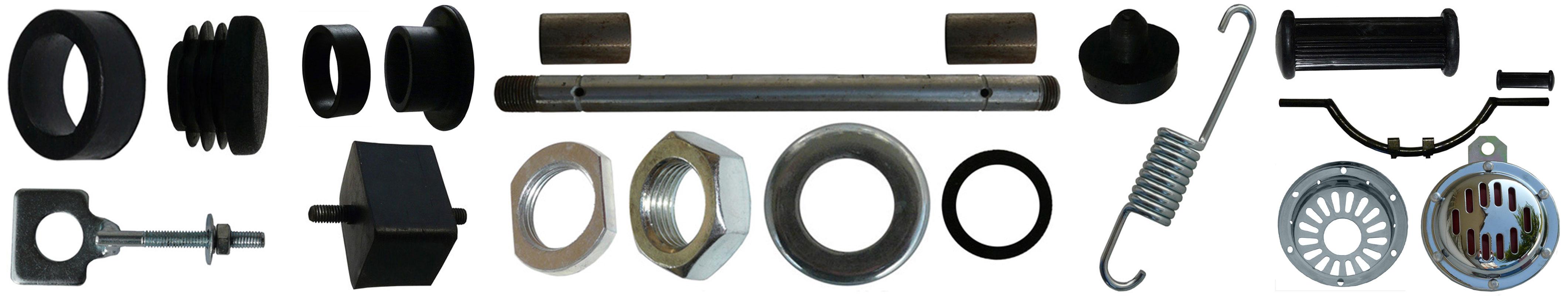 MZ ES 175/2 250/2 Ersatzteile Rahmen Anbauteile