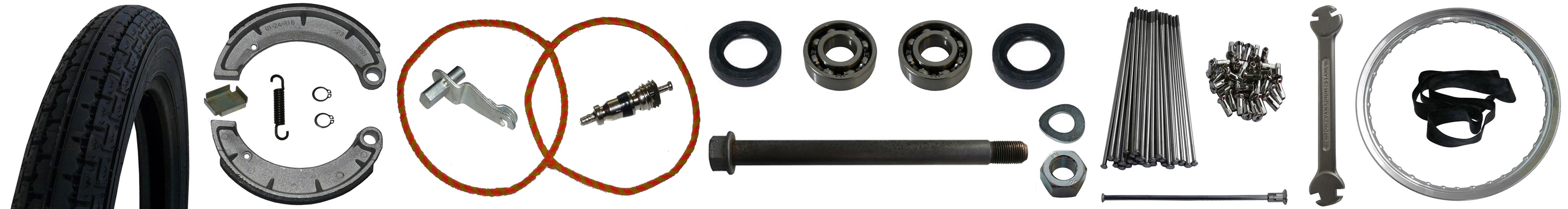MZ ES 175/2 250/2 Ersatzteile Vorderrad Bremse
