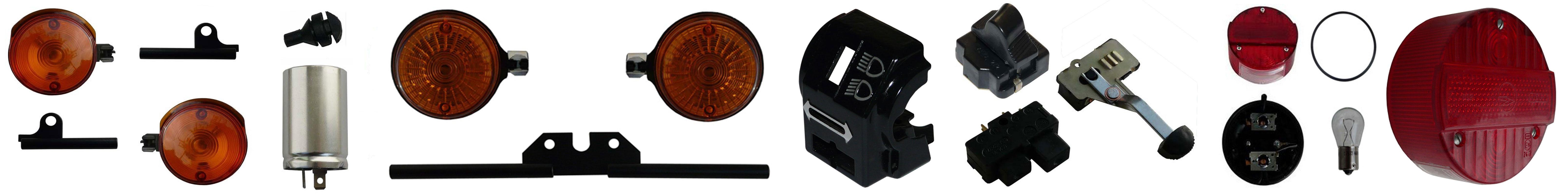 MZ ETZ 250 Ersatzteile Blinker Rücklicht