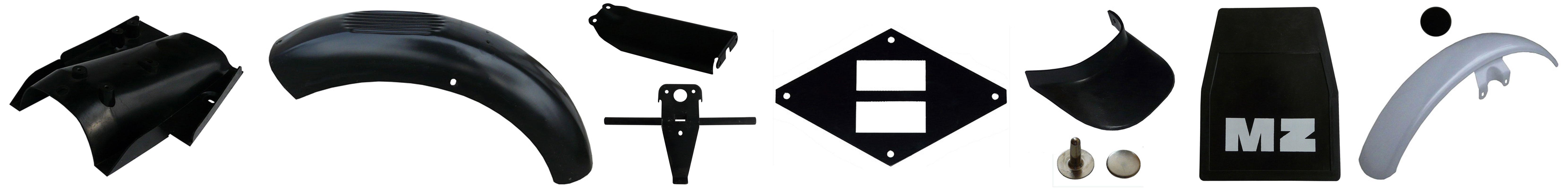 MZ ETZ 250 Ersatzteile Schutzbleche Kotflügel