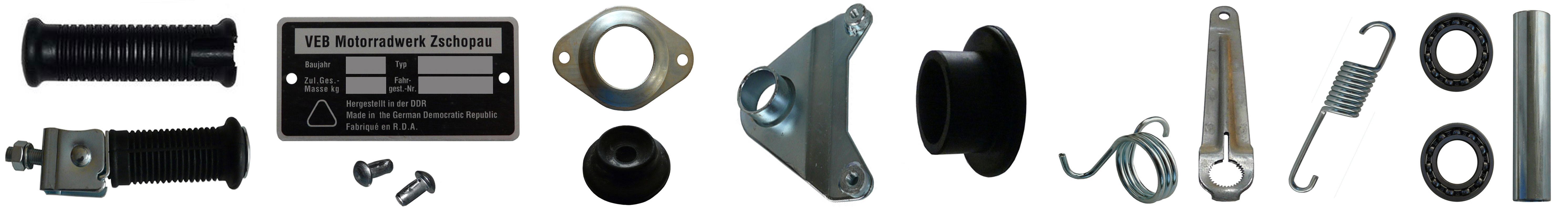 MZ ETZ 251 Ersatzteile Rahmen Fahrgestell