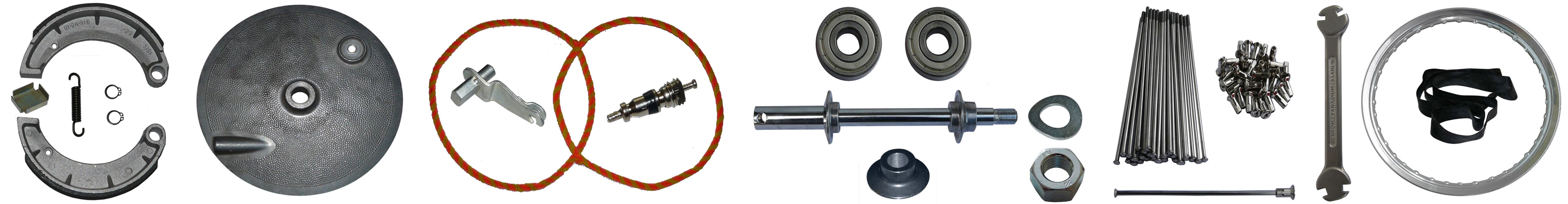 MZ ETZ 125-150 Ersatzteile Vorderrad