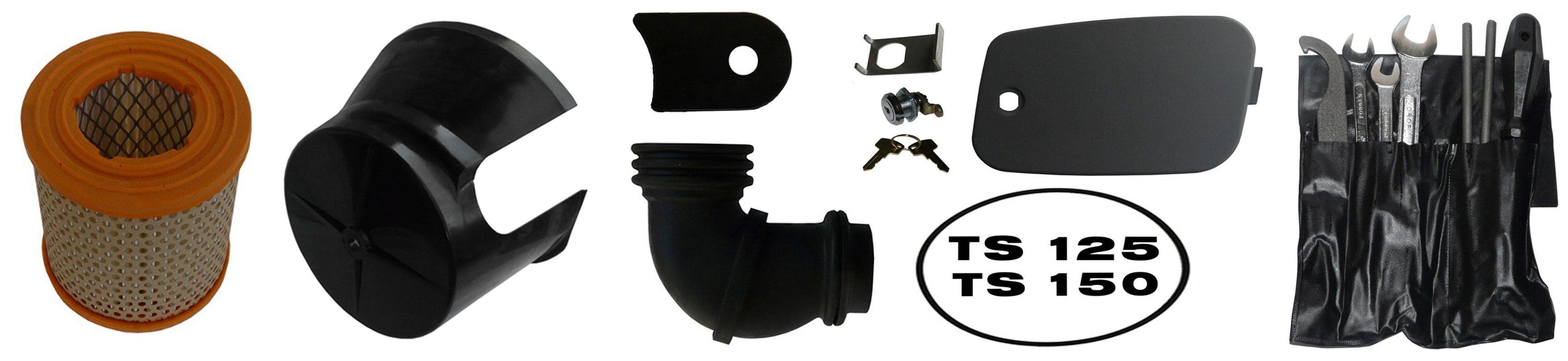 MZ TS 125 MZ TS 150 Ersatzteile Verkleidung Luftfilter
