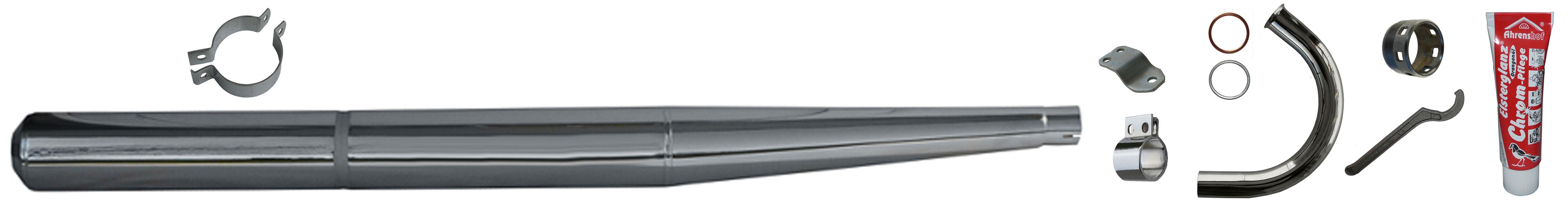 MZ TS 250/0 MZ TS 250/1 Ersatzteile Auspuffanlage
